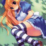 【36枚】白エプロンに水色のワンピース、不思議の国のアリスの画像